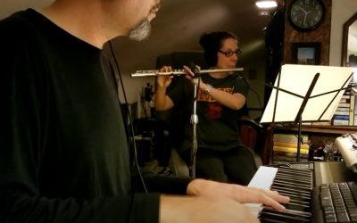 Piano Flute Duet by Aimee Simpson-Carroll and Stephan Carroll